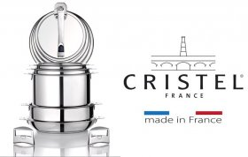 The French manufacturer of luxury kitchen utensils CRISTEL