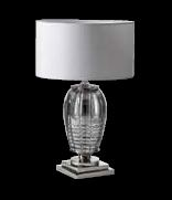VERSACE Table lamp CRYSTAL GREY