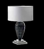 VERSACE Table lamp  CRYSTAL BLACK