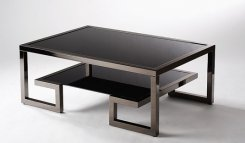 VERSACE Coffee table GUN METAL